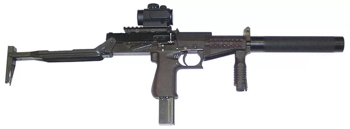 СР-2 с глушителем