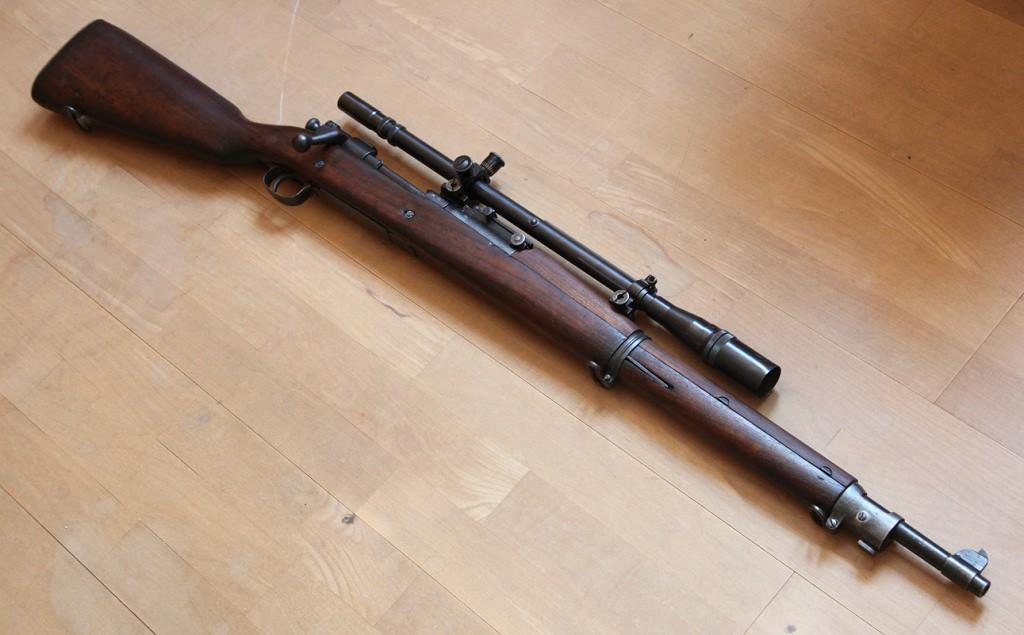 Springfield M1903 с прицелом
