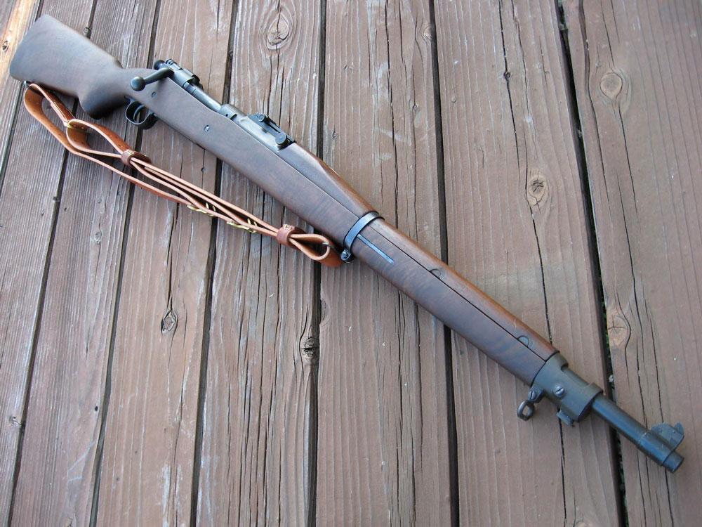 Springfield M1903 с ремнём