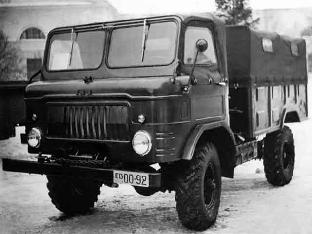 Третий образец ГАЗ-62