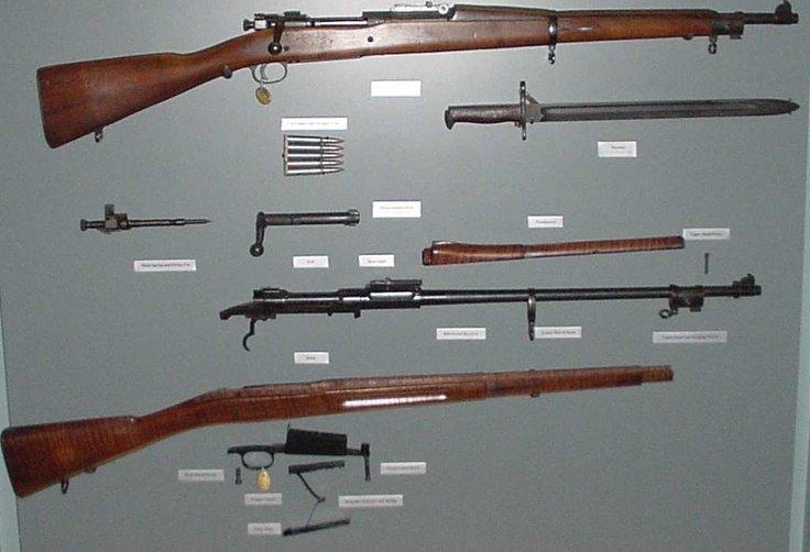 Все детали Springfield M1903