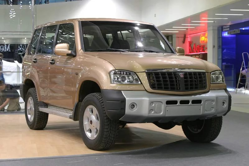 Второе поколение ГАЗ-3106