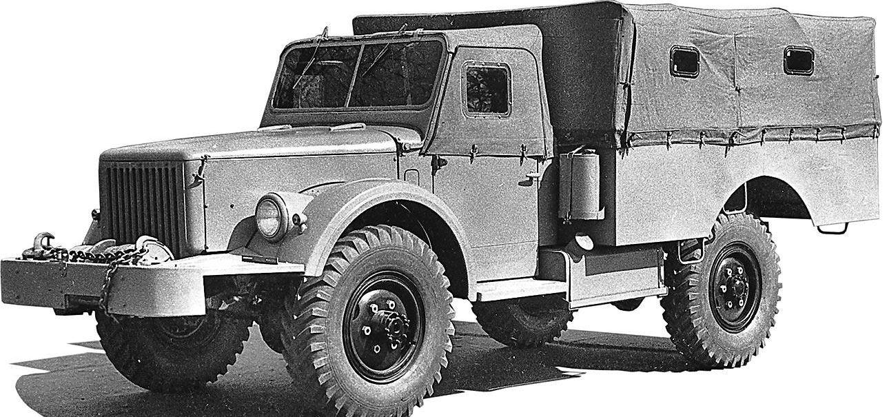 Второй образец ГАЗ-62