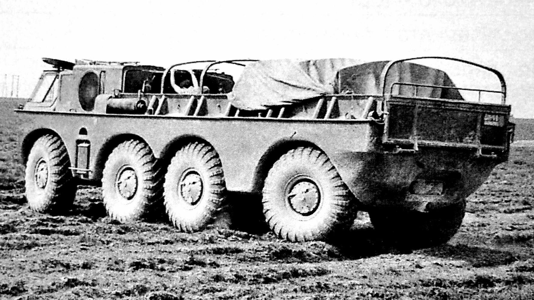 ЗиЛ-135 на бездорожье