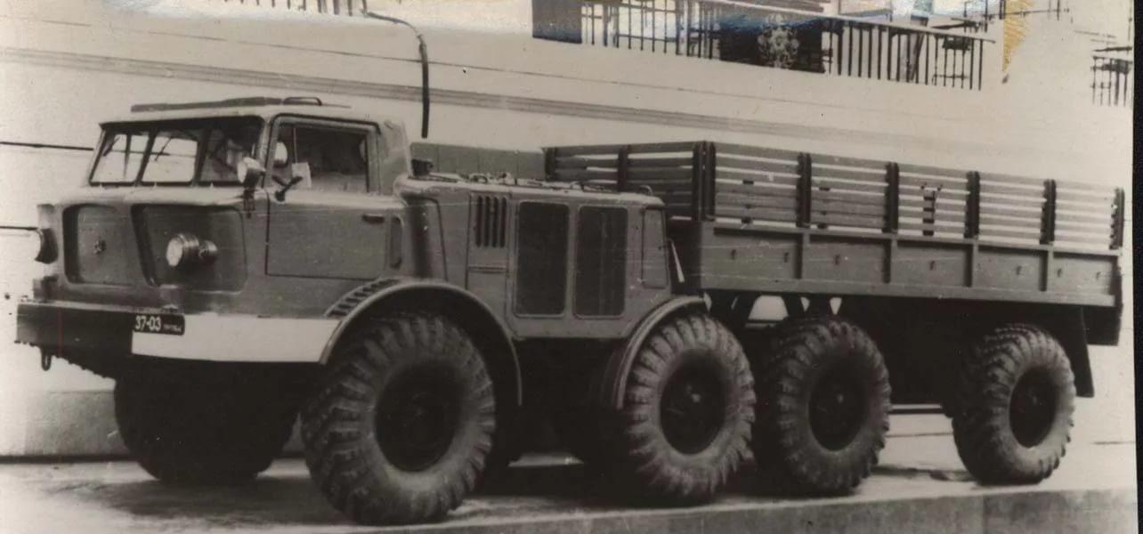 ЗиЛ-135 с открытым кузовом