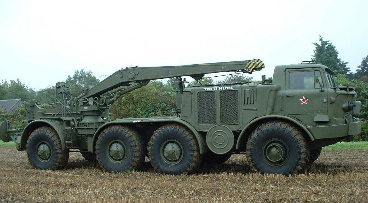 ЗиЛ-135Л с крановой установкой