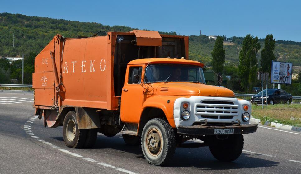 ЗиЛ-431410 мусоровоз