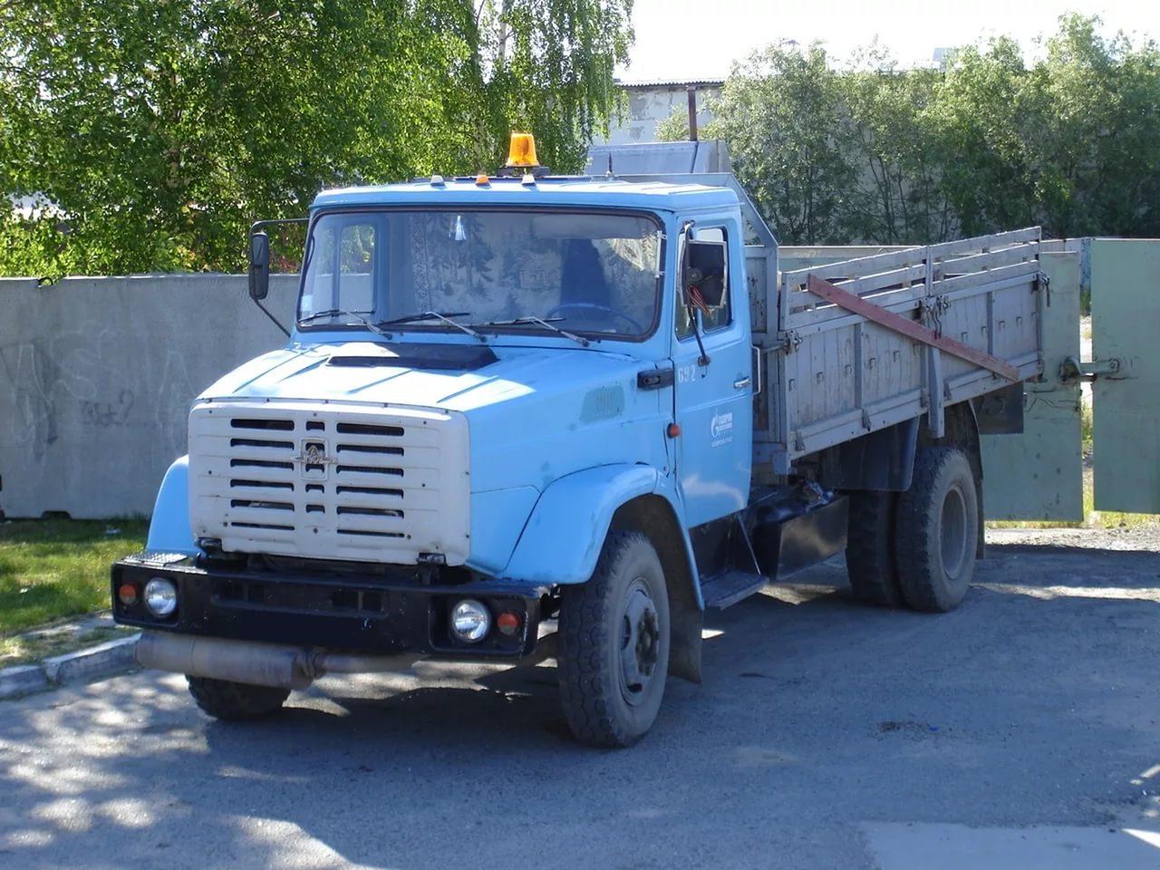 ЗиЛ-4331 с открытым кузовом