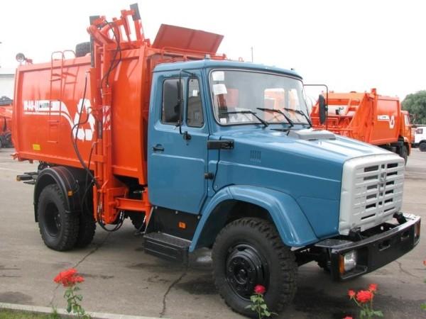 ЗиЛ-433362 мусоровоз