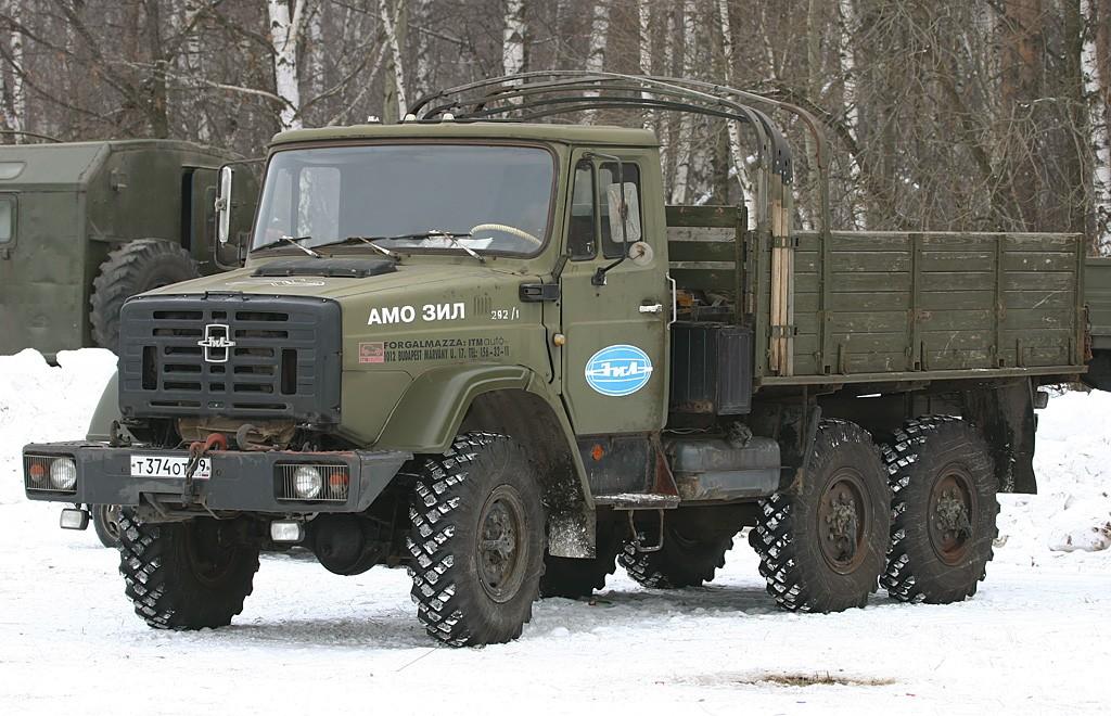 ЗиЛ-4334 с открытым кузовом