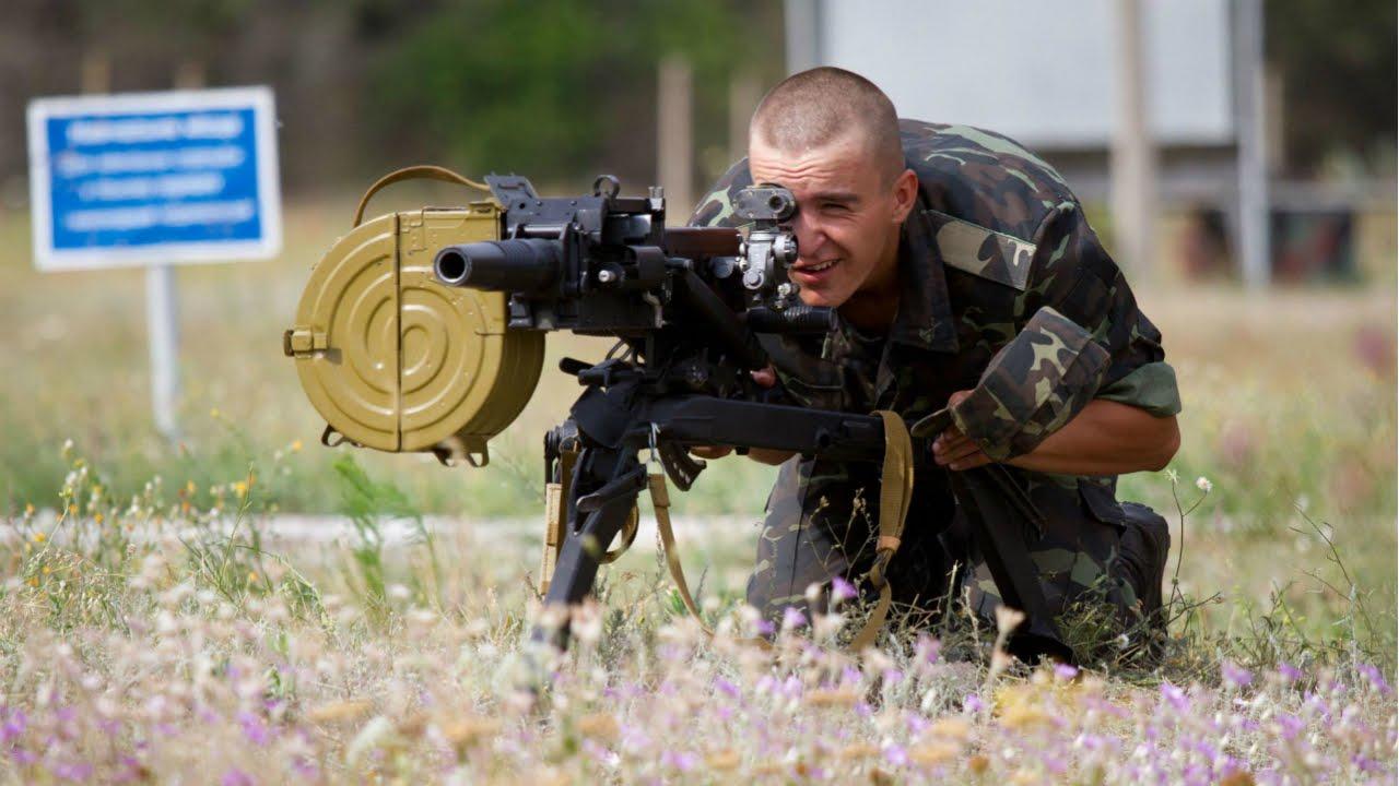Автоматический гранатомет станковый АГС-17