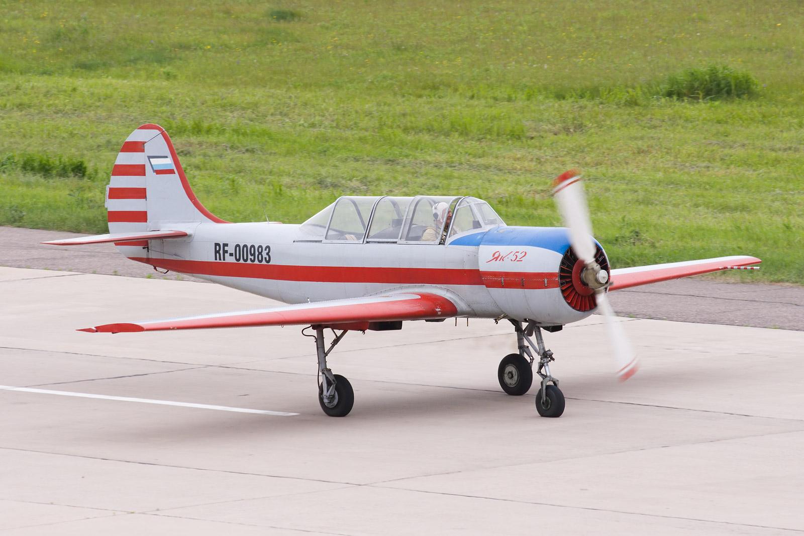 фото самолета як-52