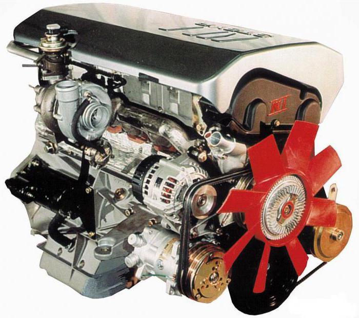 Дизельный двигатель ГАЗ-3221