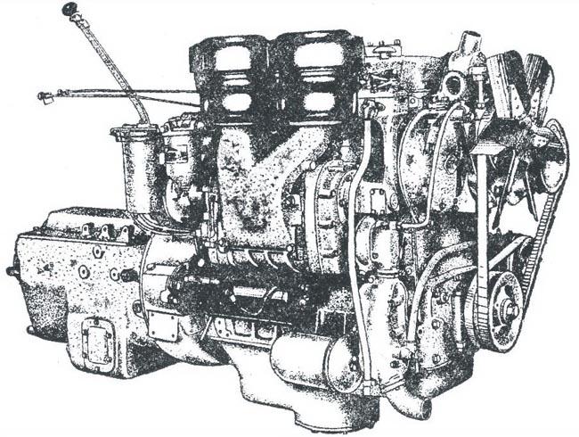 Двигатель БА-10