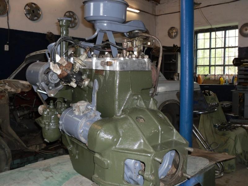 Двигатель БА-20