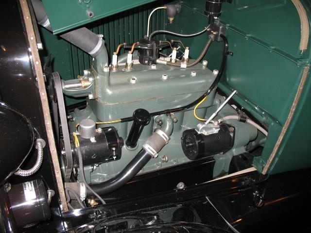Двигатель Ford Model AA