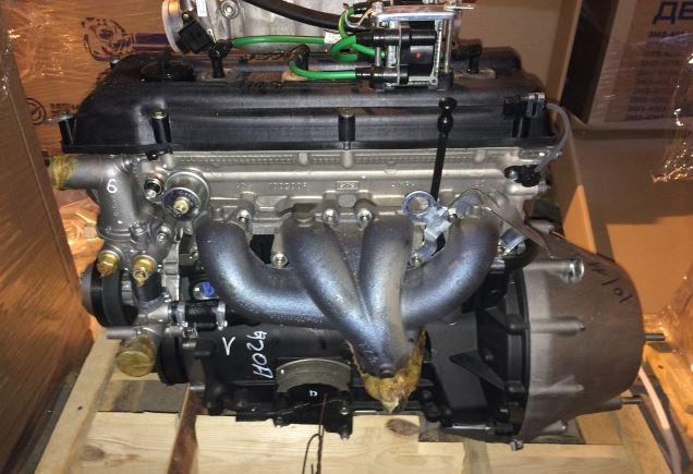 Двигатель ГАЗ-22171