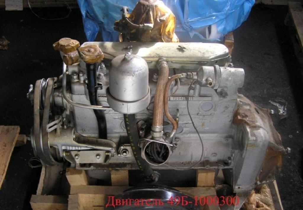 Двигатель ГАЗ-49Б
