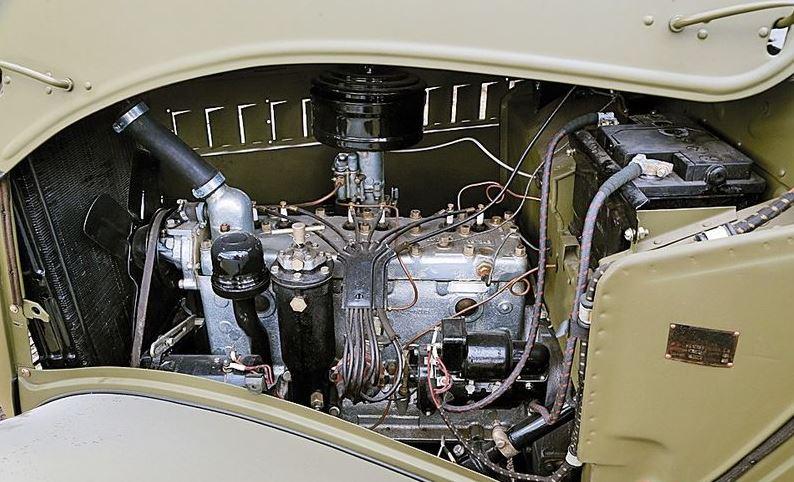 Двигатель ГАЗ-61
