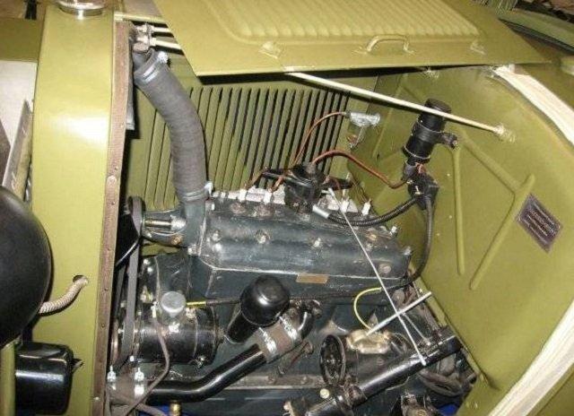 Двигатель ГАЗ-64
