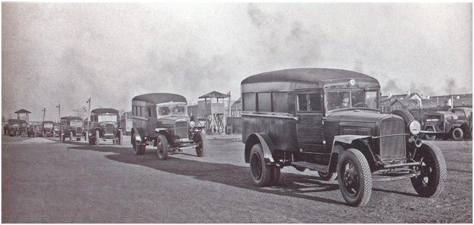 ГАЗ-55 на фронте