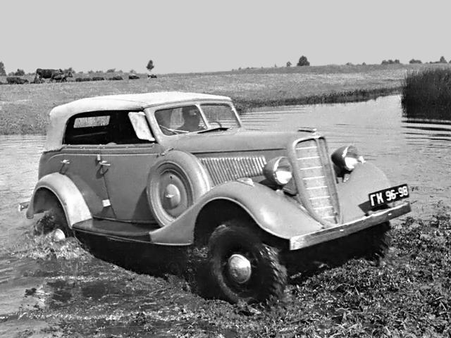 ГАЗ-61 на бездорожье