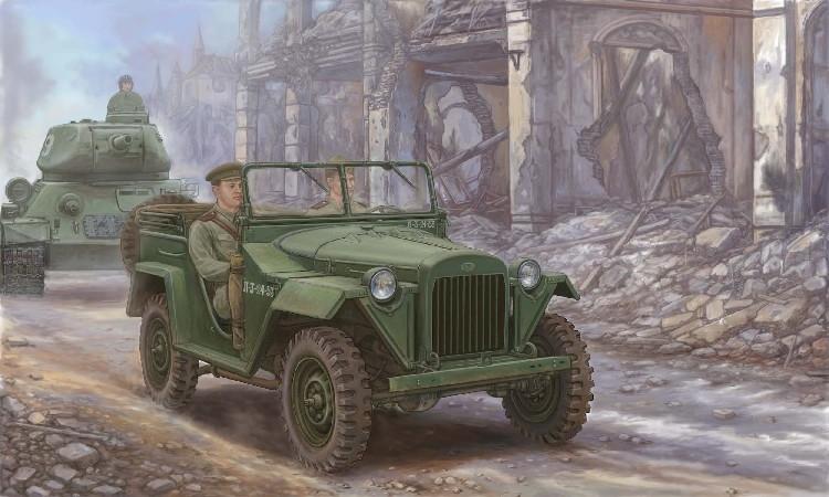 ГАЗ-67 на фронте