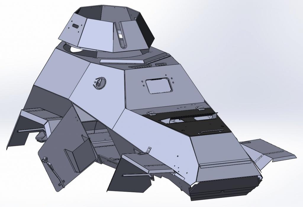 Корпус БА-64