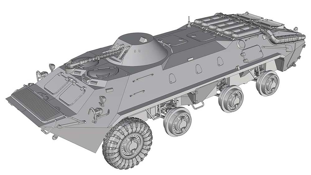 Кузов БТР-70