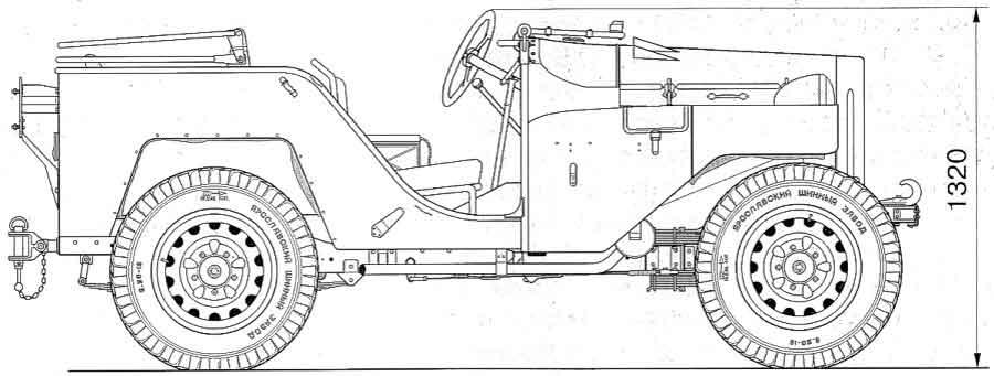 Кузов ГАЗ-64