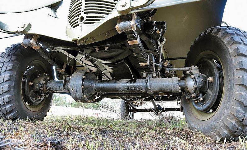 Подвеска ГАЗ-61