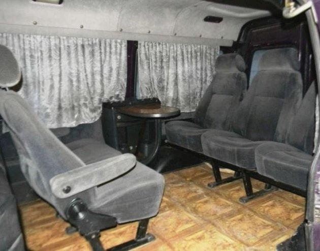 Салон ГАЗ-22171
