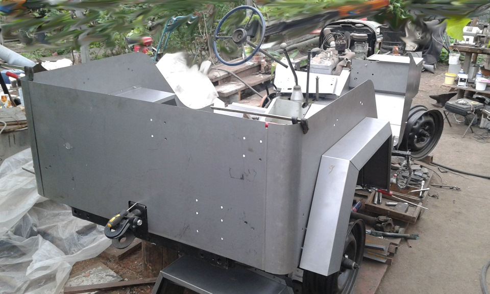 Сборка кузова ГАЗ-67