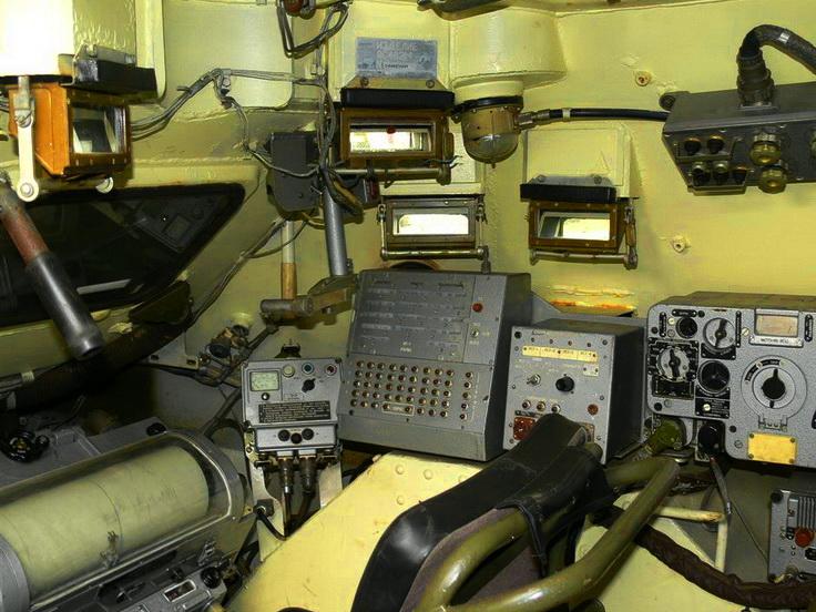 Средства связи в БТР-60