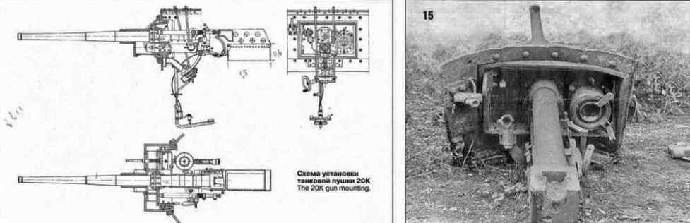 Схема пушки БА-10