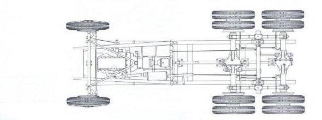 Схема ходовки БА-10