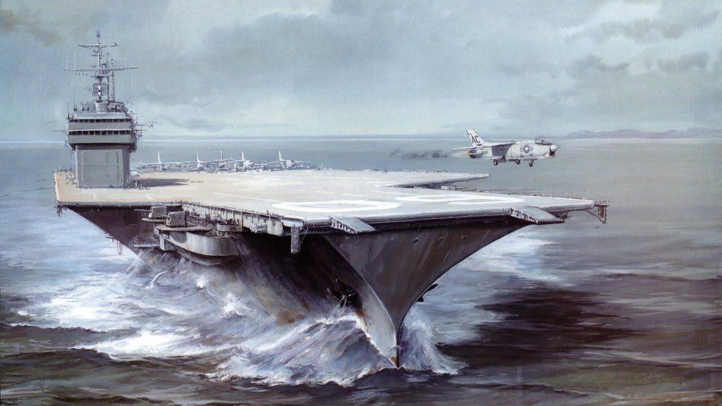 Авианосцы ВМС США