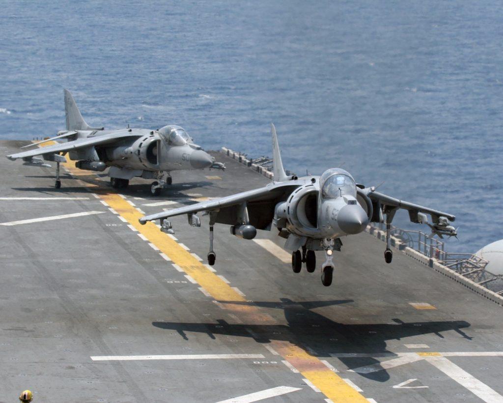 Авианосцы ВМС США: названия, типы и характеристики