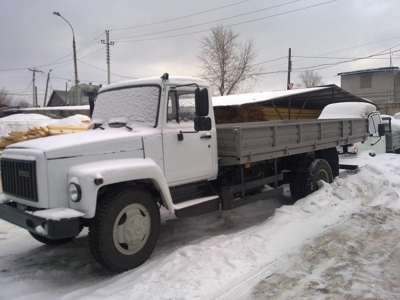 Длинный ГАЗ-3309