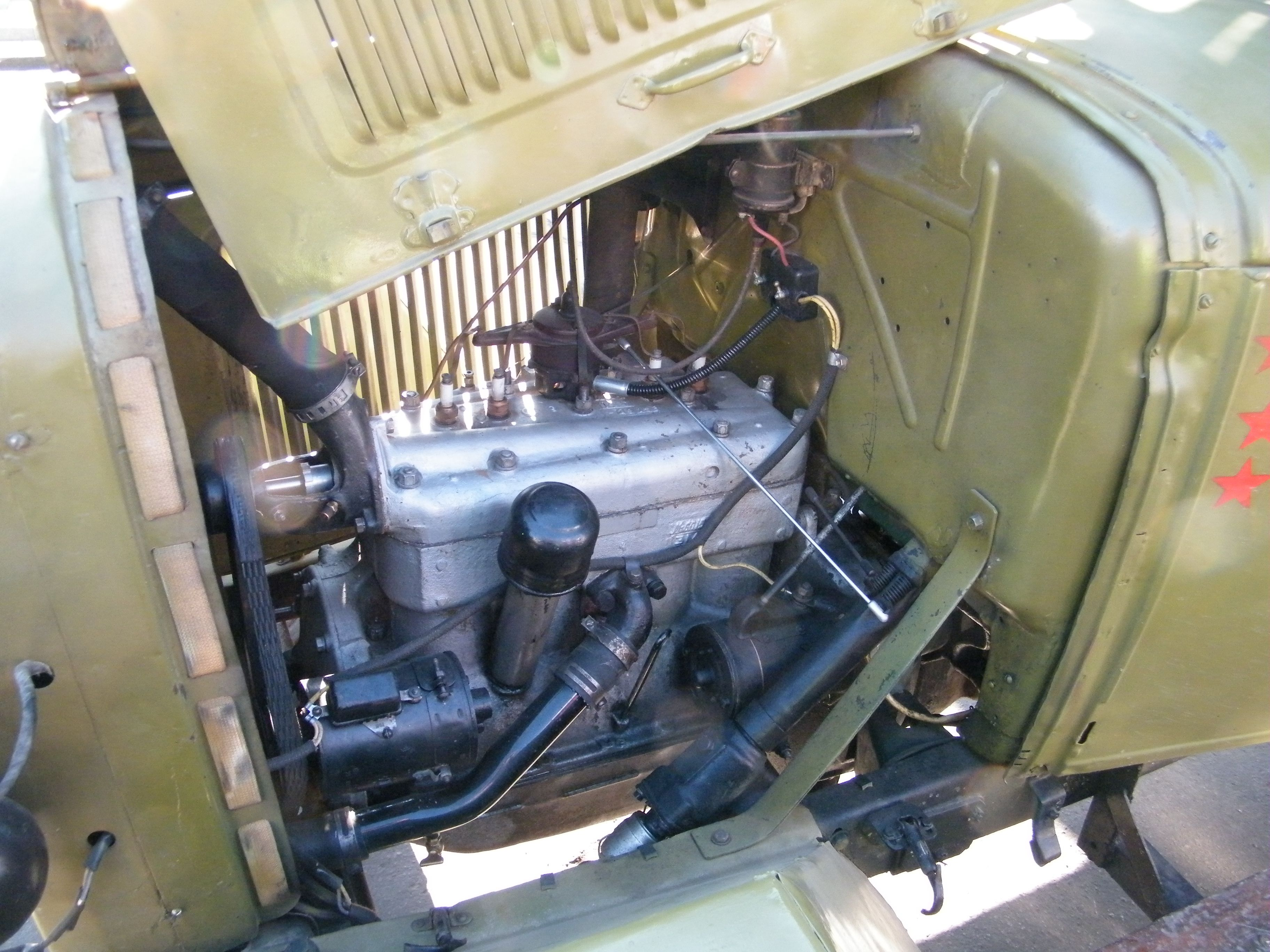 Двигатель ГАЗ-ММ
