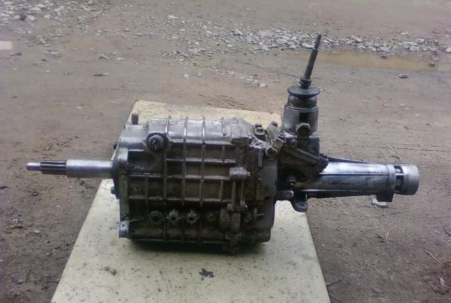 КПП ГАЗ-2705