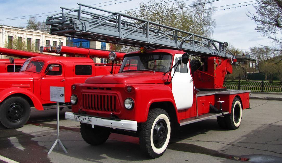 Пожарный ГАЗ-52