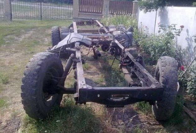 Рама ГАЗ-4301