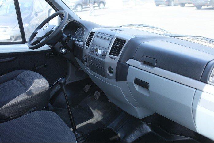 Салон ГАЗ-2705 последних лет выпуска