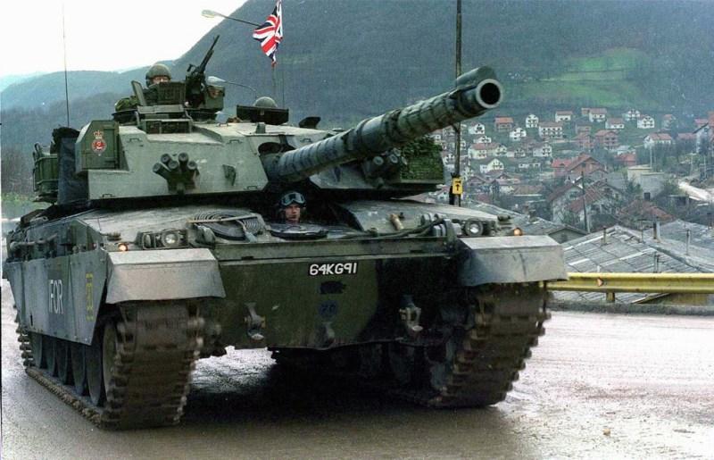 Танк Челленджер был разработан на основе танка Чифтен