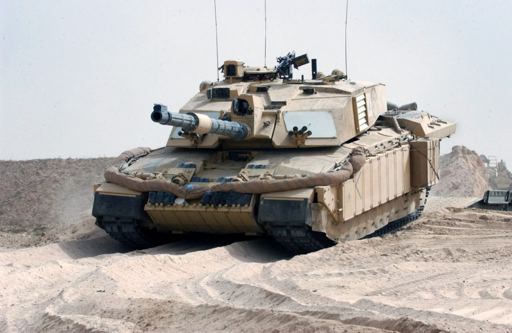 Танки Челленджер-2 участвовали в Иракской войне
