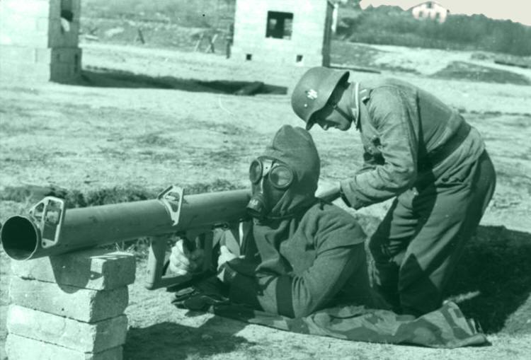 На дальности в 150 метров ракета пробивала 210 мм брони