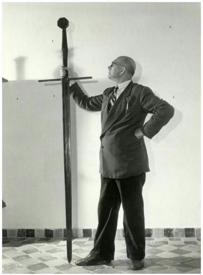 Размеры двуручного меча