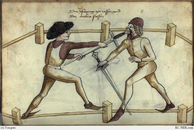 Средневековая гравюра