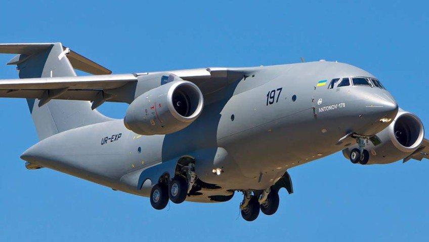 АН-178 в воздухе